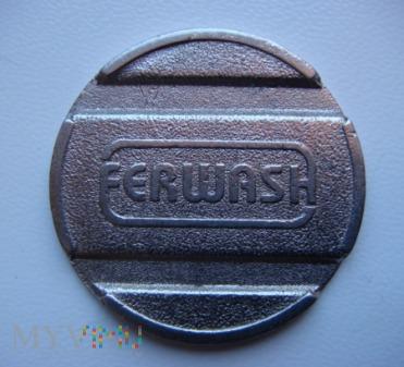 Duże zdjęcie FERWASH żeton włoskiej myjni samochodowej