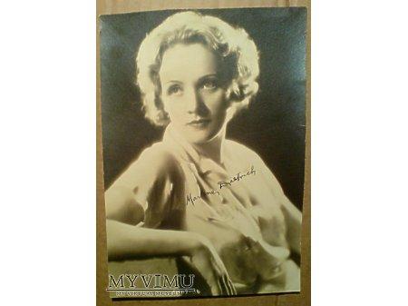 Marlene Dietrich Marlena Aktorka FOTO Zdjęcie