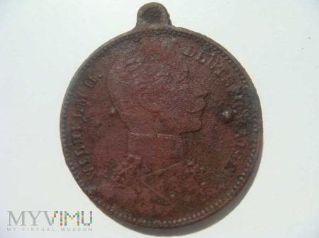 Medalik - Wilhelm II Hohenzollern
