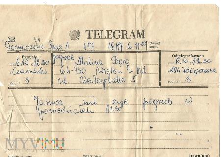 Telegramy których nie chcemy