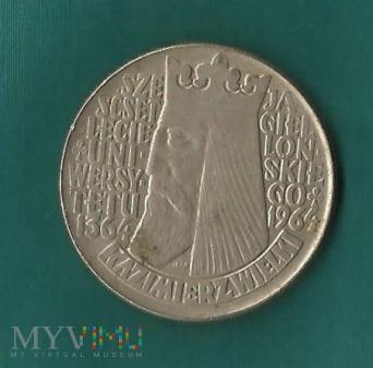 Polska 10 złotych, 1964 Władysław Jagiełło
