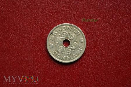 Moneta duńska: 2 kroner