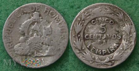 Honduras, 5 centavos 1931