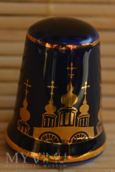 The Royal Romanov Thimble Collection/cerkiew