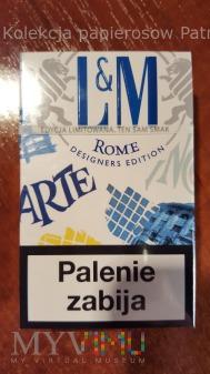 """Papierosy LM Blue """" ROME """" 2015 r."""