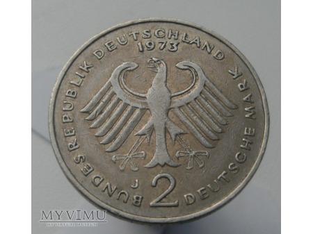 2 marki, 1973 rok.
