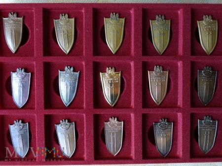 Odznaki Grunwaldzkie - powiększająca się kolekcja