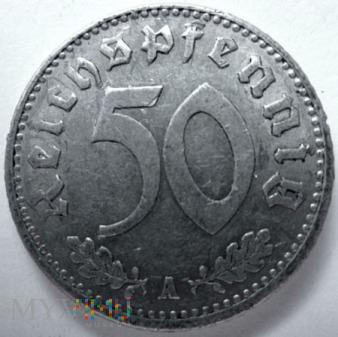 Duże zdjęcie 50 reichspfennig 1935 r. Niemcy (Trzecia Rzesza)