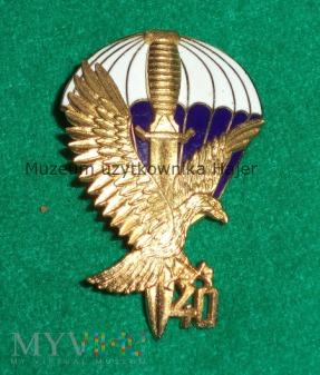 40 lat 62 KS Commando - odznaka złota