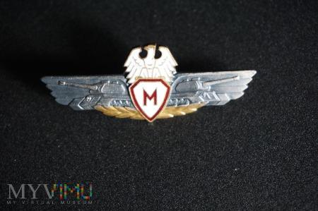 Mechanik- Kierowca Czołgu i Dział Pancernych 1956