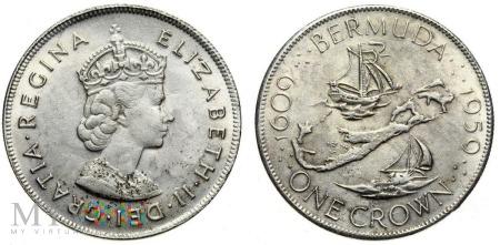 Bermudy, 1 crown 1959