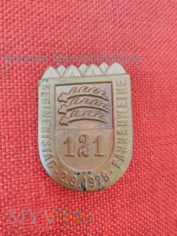 Regimentstag fahnenweihe 121