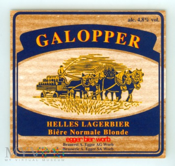 Egger, Galopper
