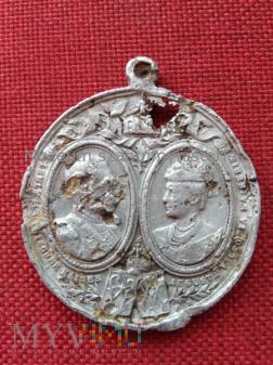medal Wilhelm II i Augusta Wiktoria