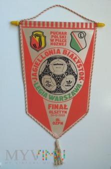 Proporzec Legia Warszawa-Jagiellonia Białystok PP