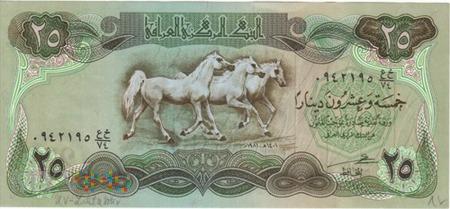 IRAK 25 DINARÓW 1981