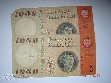 1000 złotych PRL