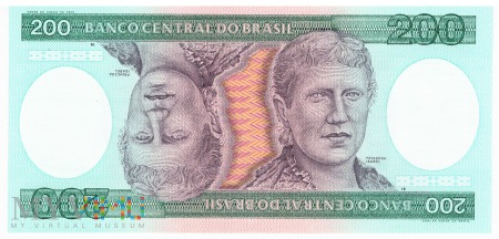 Brazylia - 200 cruzeiros (1984)