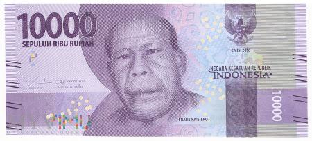 Indonezja - 10 000 rupii (2016)