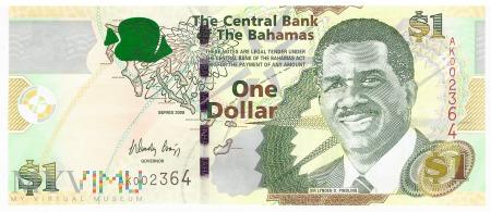 Bahamy - 1 dolar (2008)