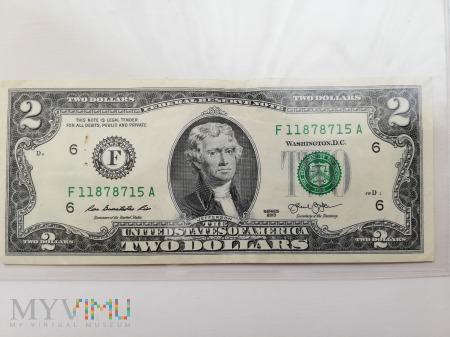 2 Dolary USA - 2013