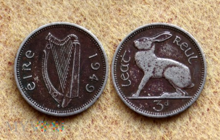 Irlandia, 3 P 1949