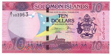 Wyspy Salomona - 10 dolarów (2017)