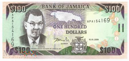 Jamajka - 100 dolarów (2009)