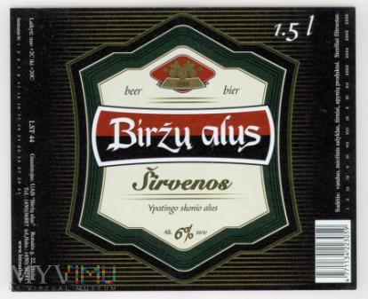 Birzu alus, Sirvenos