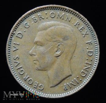 1 farthing 1943 Georg VI