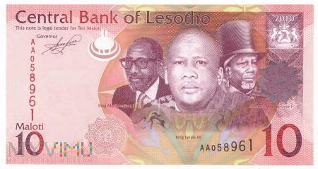 Lesotho - 10 maloti (2010)