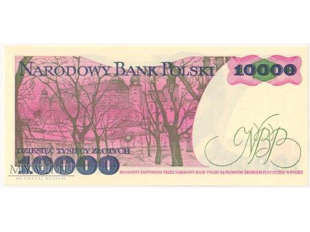 10000 złotych 1988 rok seria AH