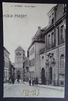 Francja - Saverne - Rue de L'église