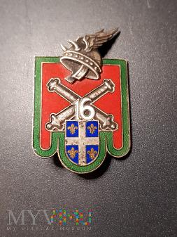 Pamiątkowa odznaka 16 Pułku Artylerii - Francja