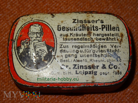 Pastylki Zinsser's Gesundheits-Pillen