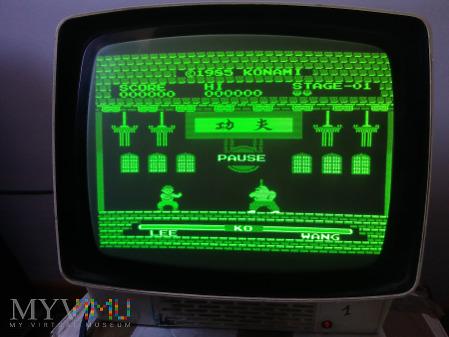 Monitor Neptun 156 ekran zielony