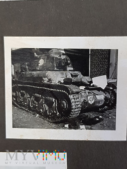 Niemcy - Fotografie z albumu - Czołg R-35