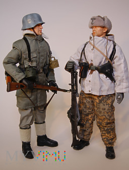 """Sekcja MG z 11. SS-Panz.Gren.-Div. """"Nordland"""""""