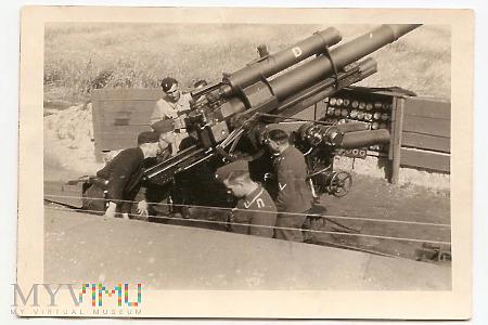 NIEMCY - działo przeciwlotnicze 88 mm