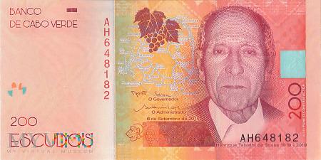 Republika Zielonego Przylądka - 200 escudos (2019)