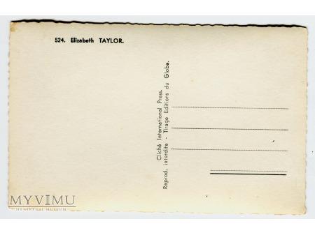 Elizabeth Taylor pocztówka Vintage photo postcard