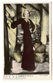 Marlene Dietrich Colourgraph nr C 96a