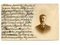 1923 z Krakowa do Rzeszowa pan w okularach