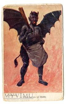 A. Setkowicz Diabeł Demon Pozdrowienia od Diabła