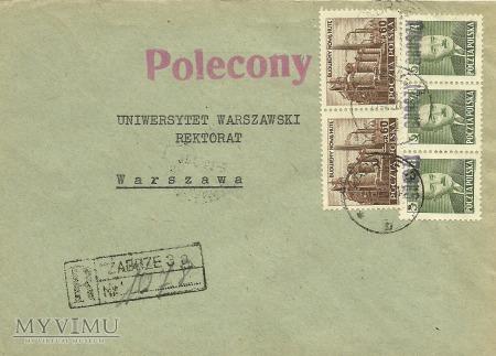 Zabrze - Warszawa - 1951