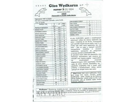 Głos Wędkarza 1'1993-3'1994 (1-5)