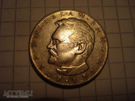 """monety 10 zł """" Bolesław Prus"""""""
