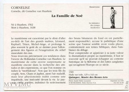 Cornelisz - Macierzyństwo biblijne - Noe