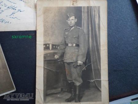 Dominik Łoński w mundurze