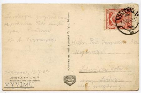 Tatry Schronisko na Hali Gąsienicowej - 1929